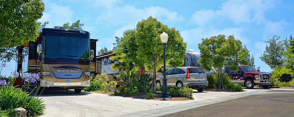 Escondido RV Park in California