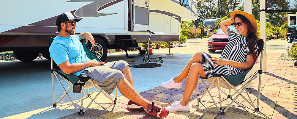Welcome to Escondido RV Resort in California