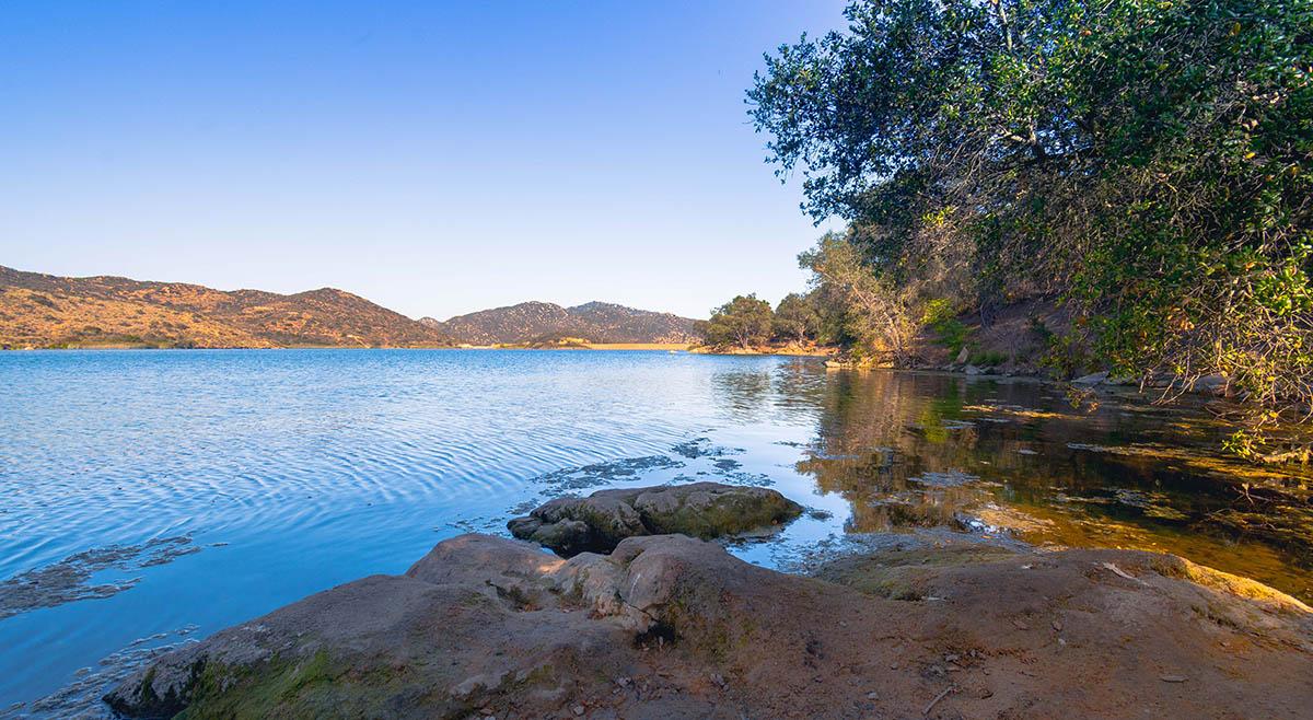 Dixon Lake in Escondido California